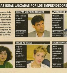 """Enterpreneurs from the University"" Revista Emprendedores & BBVA Innovation Center"