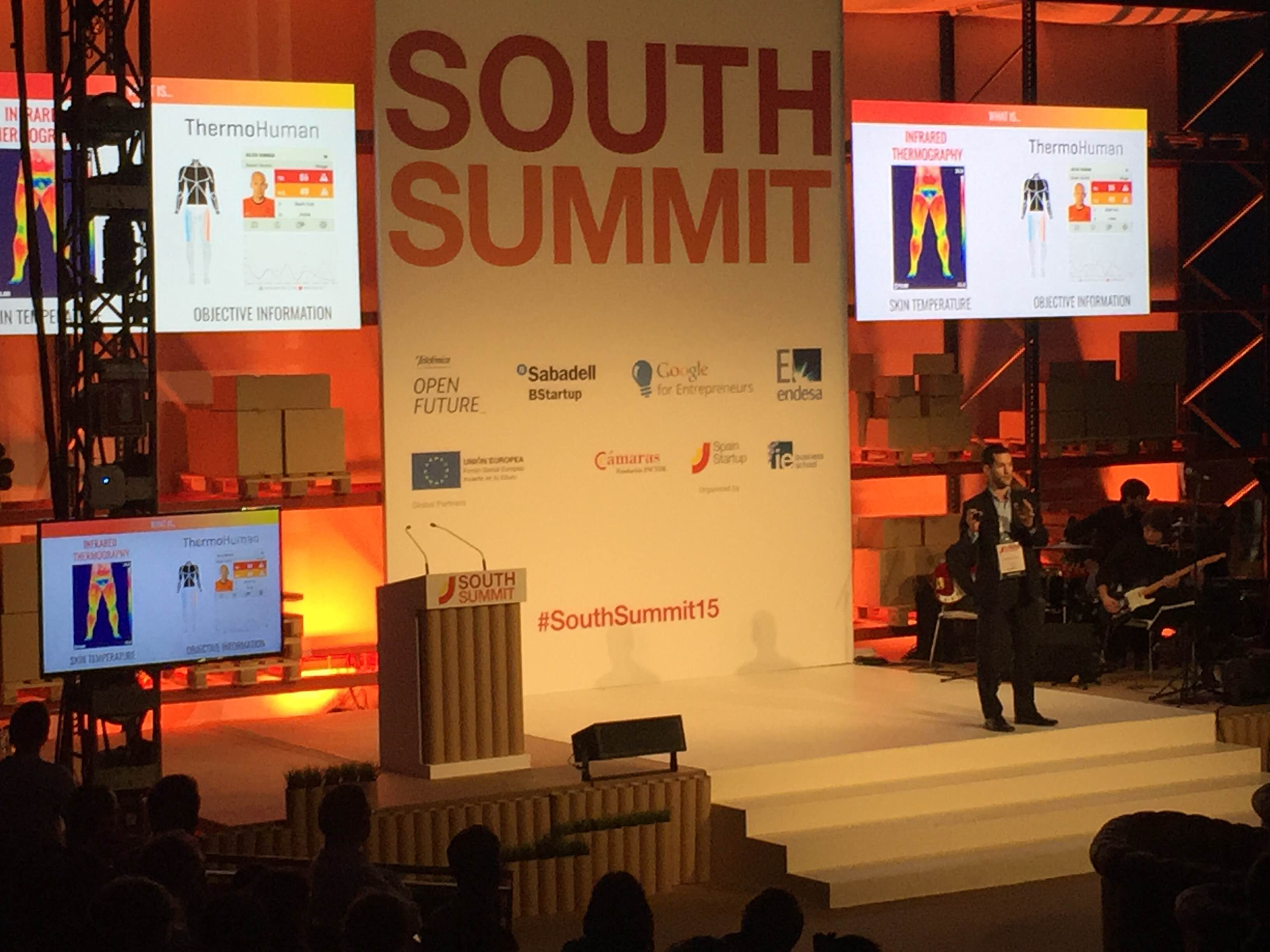 ThermoHuman awarded as one of the Biotech & Healthcare finalists of Spain Startup South Summit 2015