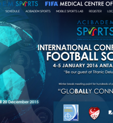 International Conference on Football Science in Turkey