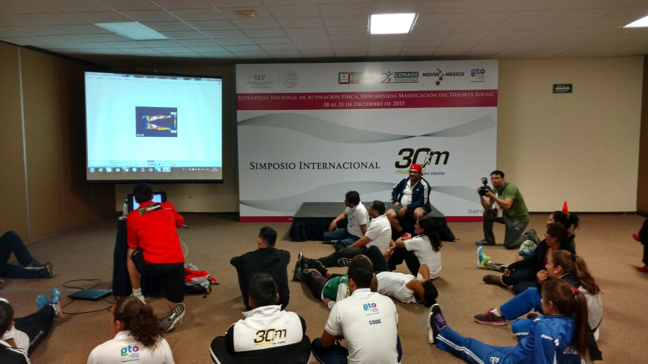 Thermography Workshop in Mexico Performance Week 2015