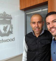 Rubén Pons (fisioterapeuta del Liverpool FC) realiza el curso de formación de ThermoHuman
