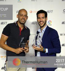 ThermoHuman gana la StartCup 2017 del World Football Summit
