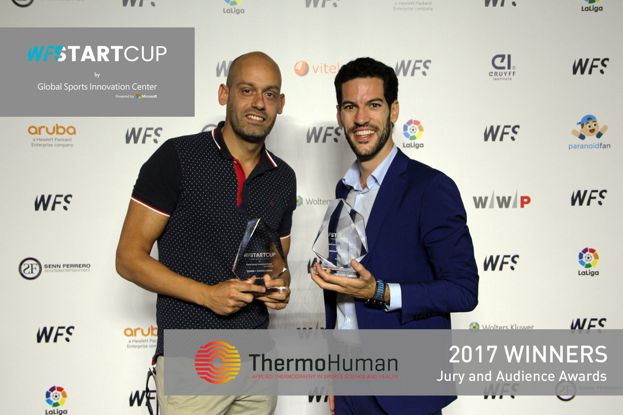 ThermoHuman wins the World Football Summit StartCup competition