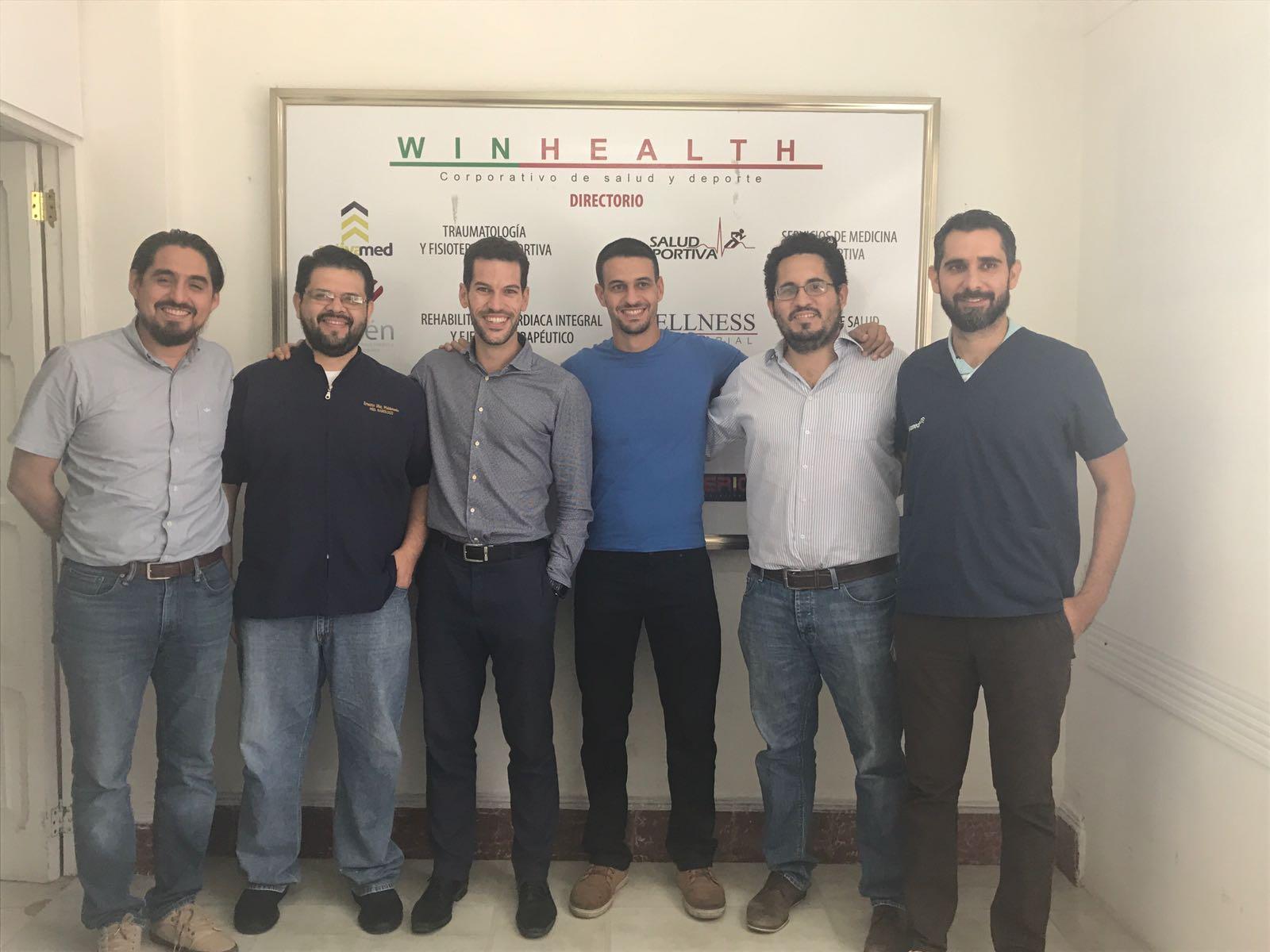 Sports Thermography course completed with Alberto Alcocer Gamboa (Mexican Basketball National Team) and Rodrigo Osorio (Venados de Yucatán)