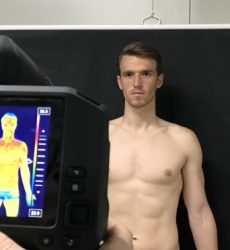 Spanish football team Real Oviedo – Sports medicine and thermography