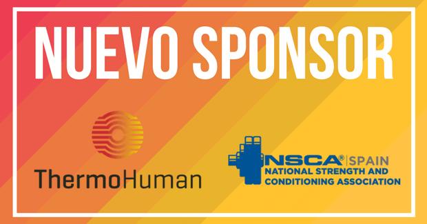 ThermoHuman: 2018 sponsor for NSCA Spain