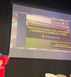 ThermoHuman en la presentación del Mareo Education & Research Lab del Sporting de Gijón