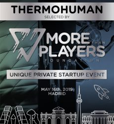 More Than Players Foundation selects ThermoHuman to pitch