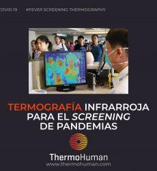 Termografía infrarroja para el screening de pandemias