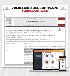 Artículo científico sobre la validación del software ThermoHuman
