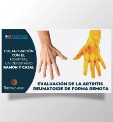 ThermoHuman participa en un proyecto premiado sobre  la valoración remota de pacientes con artritis reumatoide
