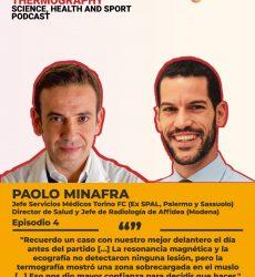 Podcast ThermoHuman nº4: Paolo Minafra (Jefe de los Servicios Médicos del Torino y Director de Salud y Jefe de Radiología de Affidea-Modena)