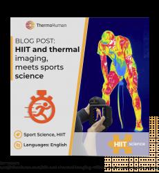 El Blog HIIT Science escribe sobre termografía infrarroja.