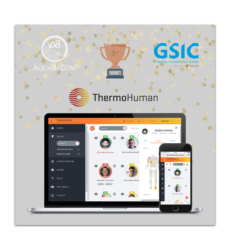 ThermoHuman awarded in the ABSG X GSIC SportsTech China-Global Series 1