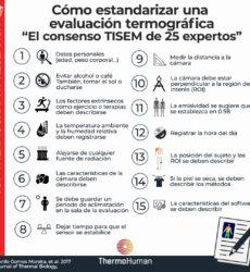 Guía práctica para usar la termografía en humanos (consenso TISEM)