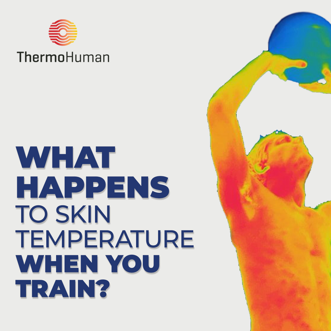 What happens to your skin temperature when you exercise? Research talks