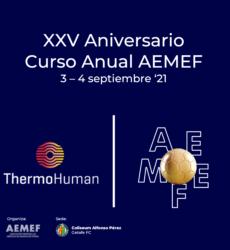 ThermoHuman es de nuevo patrocinador del curso anual de la AEMEF