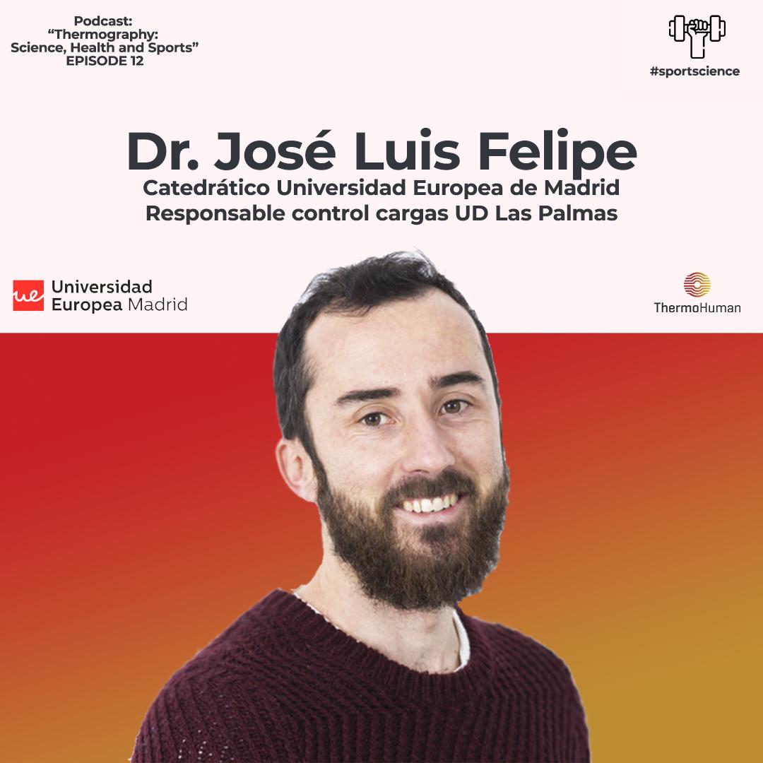 Podcast 12: Dr. José Luis Felipe, responsable del control de cargas de la UD Las Palmas